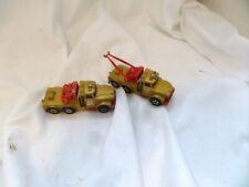 2 Vintage Matchbox Super Kings K2 Scammel Heavy Wreck Truck