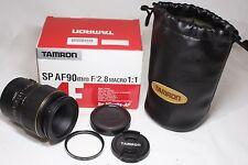 Tamron SP AF 90mm F/2.8 Macro 1:1 172E AF Lens for Minolta