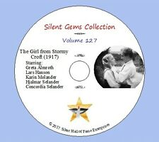 "DVD ""The Girl from Stormy Croft"" (1917) Victor Sjöström, Classic Silent Drama"