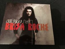 """CD Digipack Comme Neuf """" All Right Now """" Par Brisa Roche"""