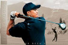RARE Tiger Woods DETERMINATION Nike PGA Golf Signature Series Poster