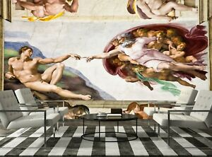 Sistine Chapel, Rome   Wall Mural Photo Wallpaper GIANT WALL DECOR Free Glue