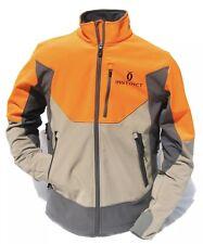 Cabela's INSTINCT Waterproof Windshear SoftShell Upland Tan Blaze Hunting Jacket