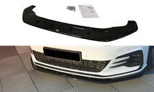 CUP Spoilerlippe für VW Golf GTI 7 VII Facelift Front Diffusor Schwert Ansatz