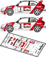 DECALS 1/43 TOYOTA COROLLA WRC - #1 LOIX ou #3 - RALLYE BIANCHI 1998 - D43047