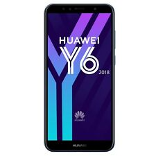 New Huawei Y6 2018 16GB Unlocked Andriod 13MP 4G Black Mobile Phone Smartphone