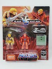 Masters of the Universe HE-MAN vs BEAST MAN MEGA Construx Heroes GNn73
