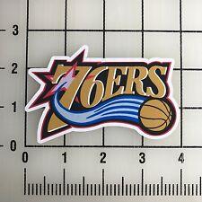 "Philadelphia 76ers NBA 4"" Wide Vinyl Decal Sticker - BOGO"