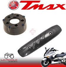 FONDELLO + PROTEZIONE MARMITTA CARBON LOOK YAMAHA TMAX T-MAX 500 2001 -- 2007