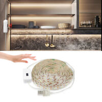 Under Kitchen Cabinet LED Lighting Kit Hand Motion Wave USB LED Strip Light Tape