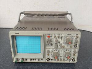 HAMEG Hm 604-2 Oscilloscope 60 MHZ Avec Corde - Maintenu - Haut
