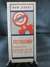 1932 New Jersey Standard Oil Road Map