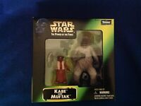 Vintage Star Wars Kenner The Power of the Force Kabe and Muftak