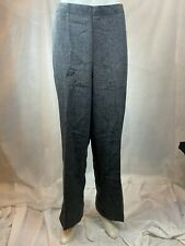 Alfred Dunner Classic Fit Elastic Waist Pants Women's Size 18 Gray NEW #61