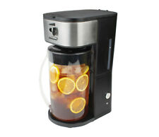 Brentwood KT-2150BK Iced Tea and Coffee Maker with 64oz Pitcher