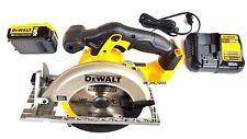 "Dewalt DCS391 20V 6 1/2"" Circular Saw, 1) DCB205 5.0 Battery, Charger 20 volt"