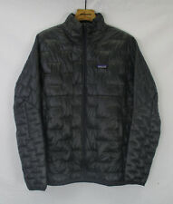 Patagonia Mens Insulated Micro Puff Jacket 84065 Forge Grey Size Medium