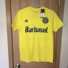 Adidas Columbus Crew Jersey T Shirt MLS Soccer Trapp #20 Barbasol NWT