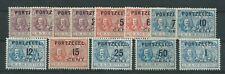 1907TG Nederland Portzegel P31-P43 postfris mooie zegels zie foto's.