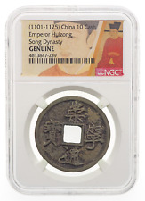 ANCIENT CHINA, Northern Song Dynasty. Hui Zong, 1101-1125, 10 Cash, NGC Genuine