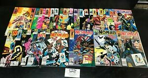 Nomad, Complete 1992 Series!  Issues 1-25!  high grade!