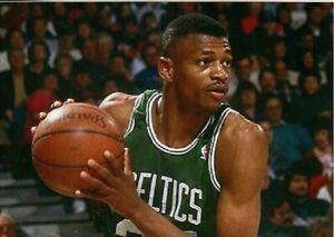 Reggie Lewis--Boston Celtics--Glossy 5X7 Color Photo