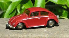Vintage Schuco Micro Racer #1046 VW Beetle Bug Wind Up Toy Car