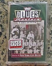 """""""STILL SEALED"""" CASSETTE TAPE by BLUES MASTERS / VOLUME 13 NEW YORK CITY BLUES"""