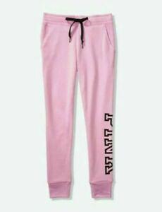 Victoria's Secret PINK Everyday Lounge Pink Violet Skinny Jogger Pants Size L
