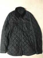Barbour International Quilted Down Jacket