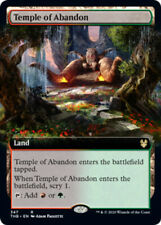 1x Temple of Abandon - Foil - Extended Art MTG Theros Beyond Death NM Magic Foil