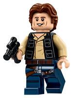 LEGO STAR WARS MINI FIGURINE HAN SOLO & Blaster étoile de la mort 75159 RARE
