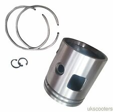 ukscooters VESPA PISTON KIT WITH RINGS PX200 66.5MM STANDARD SIZE LML.