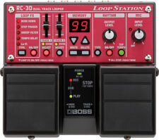 BOSS RC-30 - Dual Twin Stereo Track Looper Effects Pedal Live Guitar