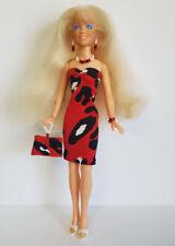 Hasbro Vintage JEM Clothes DRESS, PURSE & JEWELRY Handmade Fashion NO DOLL d4e