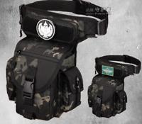 Multifunction Thigh Leg Bag Tactical Waist Bag Waterproof Nylon Bag Travel