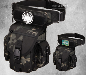 Multifunction Thigh Leg Bag Tactical Waist Bag Waterproof Nylon Bag Travel