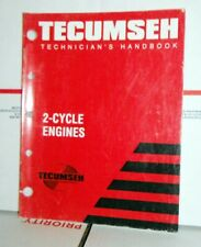 1999 Tecumseh Mechanics Handbook  2 CYCLE Engines 692508 63 PAGES