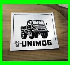 Aufkleber Oldtimer Sticker Unimog 406 Ochsenkopf A57