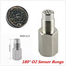 M18x1.5 Catalytic Oxygen O2 Sensor Spacer Adapter For Car Check Engine Light Fix