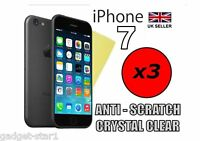 3x CRYSTAL CLEAR SCREEN PROTECTOR COVER LCD GUARD FILM FOR APPLE IPHONE 7 2016