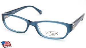 NEW COACH HC 6008 Cadyn 5028 Blue EYEGLASSES GLASSES FRAME 53-17-135mm B30mm