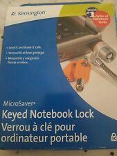 Kensington MicroSaver Keyed Laptop Lock - 6' Cable - Notebook Projector Monitor