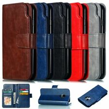 Deluxe 9 Cards Wallet Leather Case Cover For Samsung S10 S9 S8 Plus A20E A50 A10
