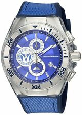 TECHNOMARINE MEN'S CRUISE 46MM CANVAS BAND STEEL CASE QUARTZ WATCH TM-115339