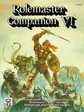 Rolemaster Companion VI, Iron Crown Enterprises, Acceptable Book