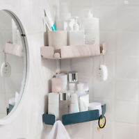 Bathroom Corner Shelf Wall-Mounted Shower Storage Racks Organizer Shelf Holder