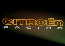 CITROEN RACING 2 Colour Vinyl Stickers DS3 DS4 DS5 Motorsport Rally Graphics WRC