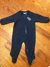 New! Tennessee Titans 6/9 Months Full Zip Sleeper NFL