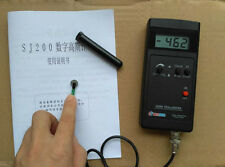 CE SJ200 Gauss meter Tesla meter Magnetic flux meter 0.1mT & 1mT w/ power supply